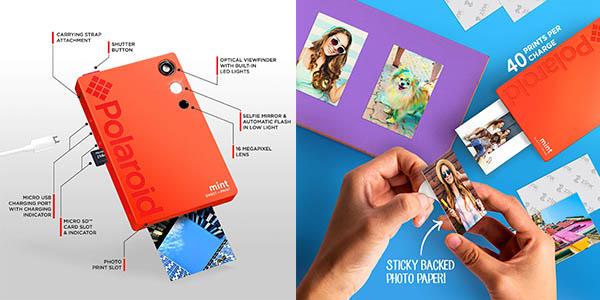 cámara de fotos Polaroid Mint impresora oferta