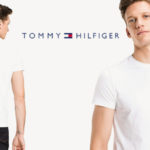 Camiseta de manga corta Tommy Hilfiger Core Stretch Slim Cneck tee barata en Amazon