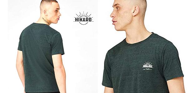 Camisetas de manga corta HIKARO para hombre chollo en Amazon