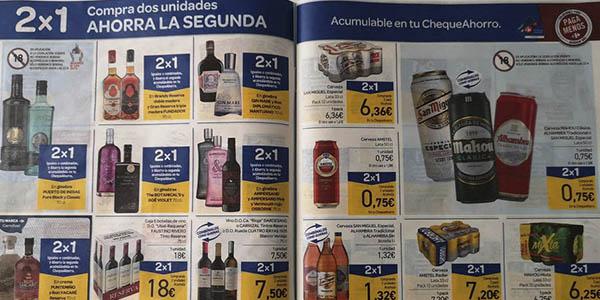 Carrefour promoción productos 2x1 cheque ahorro