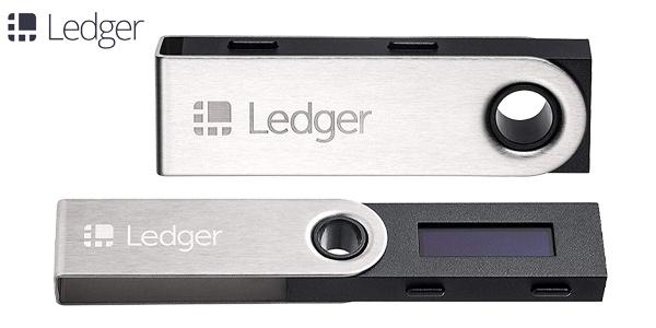 Cartera segura para criptomonedas Ledger Nano S barata en Amazon