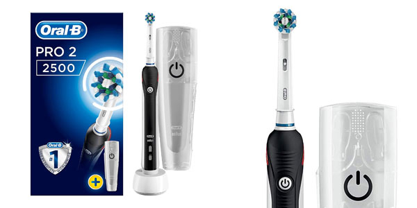 Cepillo eléctrico Oral-B Pro 2 2500 CrossAction barato en Amazon