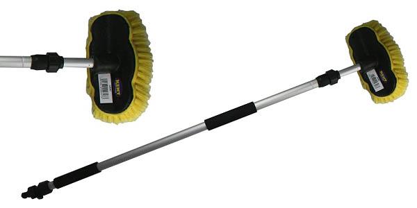 cepillo Kent Q4347 con mango telescópico para limpieza de techos y coches oferta