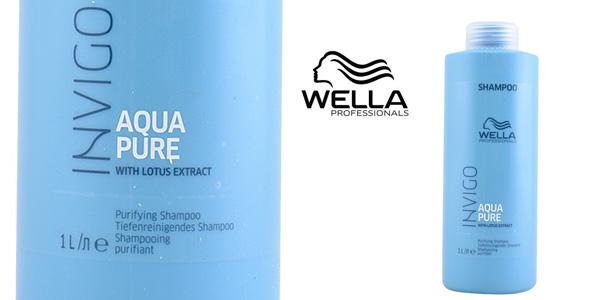 Champú Wella Invigo Aqua Pure de 1.000 ml barato en Amazon