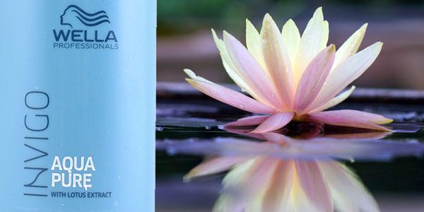 Champú Wella Invigo Aqua Pure de 1.000 ml chollo en Amazon