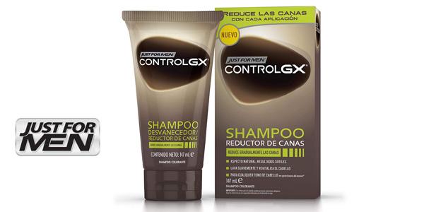 Champú Reductor de Canas Just For Men Control GX para hombre barato en Amazon