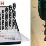 Chollo Set Bosch Robust Line de 8 brocas helicoidales para madera