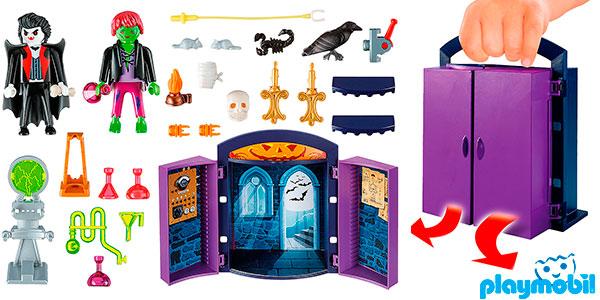 Chollo Cofre Casa Encantada de Playmobil con 2 figuras