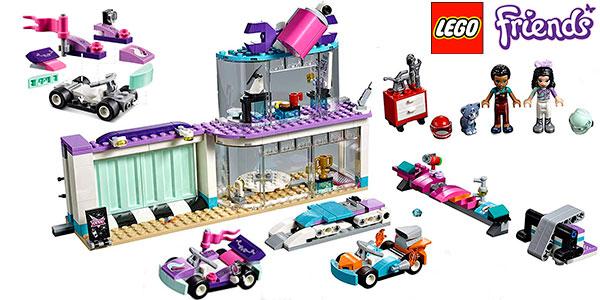 Chollo Set Taller de tuneo creativo de LEGO Friends con 2 minifiguras