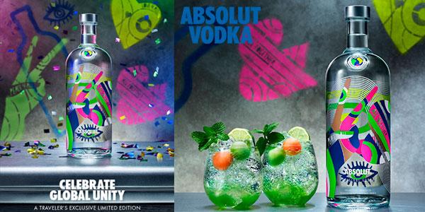 Chollo Vodka Absolut World Limited Edition (1000 ml)