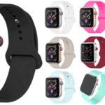 Correas Apple Watch de silicona baratas en Amazon
