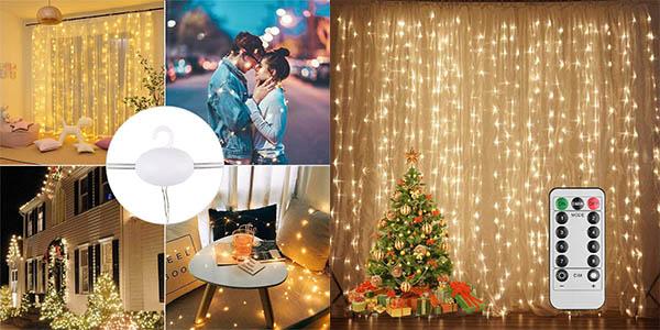Cortina de luces LED UrMsun barato