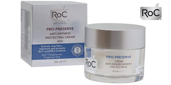 Crema nutritiva ROC Pro Preserve textura rica de 50 ml barata en Amazon