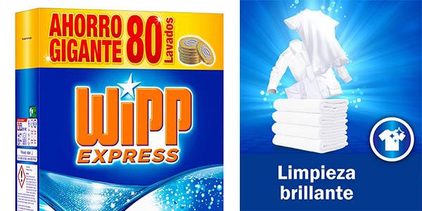detergente para ropa en polvo Wipp Express pack ahorro