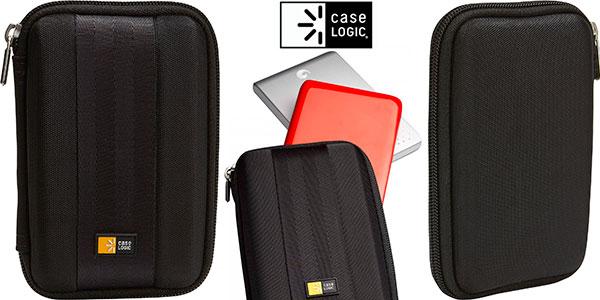 """Estuche compacto Case Logic QHDC101K para disco duro de 2,5"""" barato"""