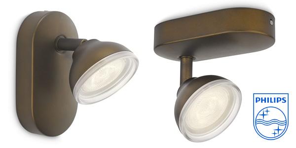 Foco LED Philips myLiving Toscane cabezal ajustable 3W barato en Amazon