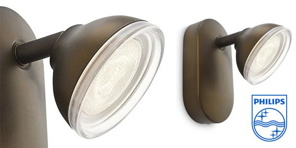 Foco LED Philips myLiving Toscane cabezal ajustable 3W chollo en Amazon