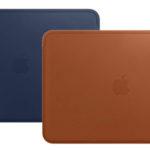 Apple Funda de piel para Macbook en color marrón caramelo o azul noche barata en Amazon