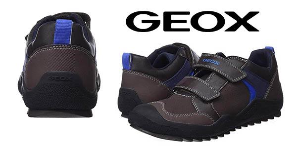 Geox J Artach Boy zapatillas infantiles baratas