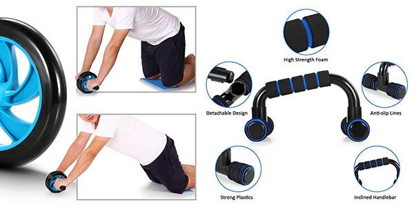 juego de gimnasia y musculación para usar en casa TOMSHOO oferta
