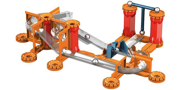 juego de piezas y gravedad Geomag-GM772 Mechanics chollo