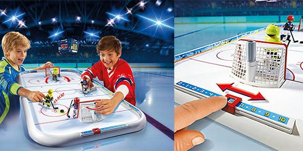 juego Playmobil campo de hockey oferta