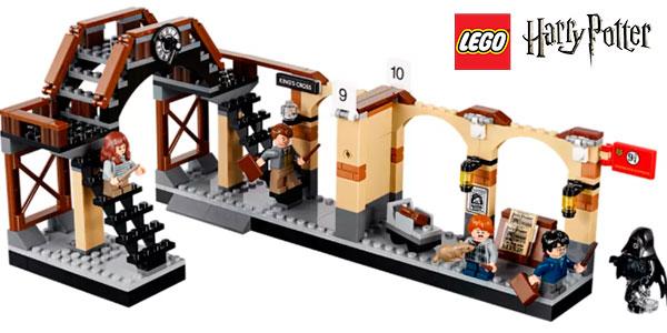 Kit Tren Hogwarts Express y Andén 9 y 3/4 de LEGO Harry Potter con 5 minifiguras barato