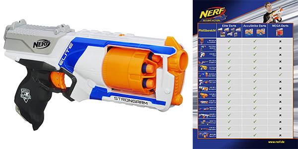 lanzadardos Nerf Strongarm Elite chollo