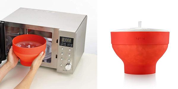 Recipiente para palomitas microondas Lekue Popcorn al mejor precio en Amazon