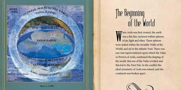 Libro ilustrado Tolkien: An Illustrated Atlas by David Day chollo en Amazon