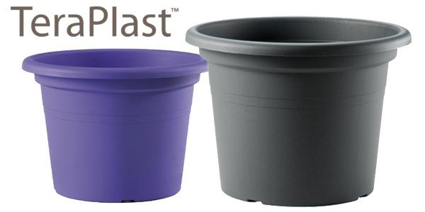 Maceta Redonda TERAPLAST 09701535 de plástico en varios colores barata en Amazon