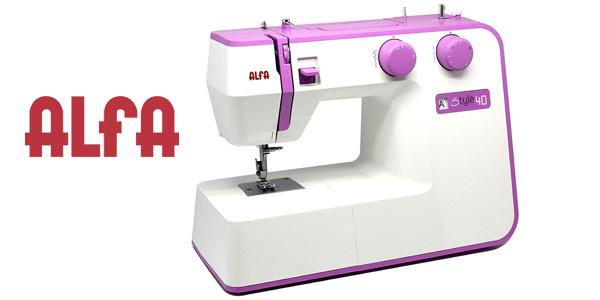 Máquina de coser eléctrica Alfa Style 40 barata en Amazon