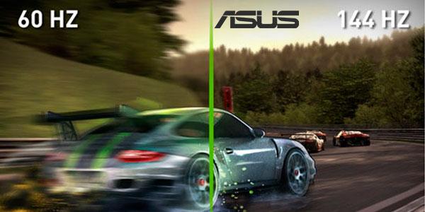 "Monitor gaming Asus VG248QE Full HD de 24"" a 144 Hz barato"