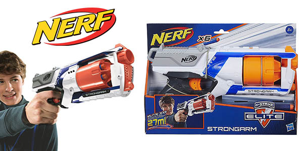 Nerf Strongarm Elite lanzador barato