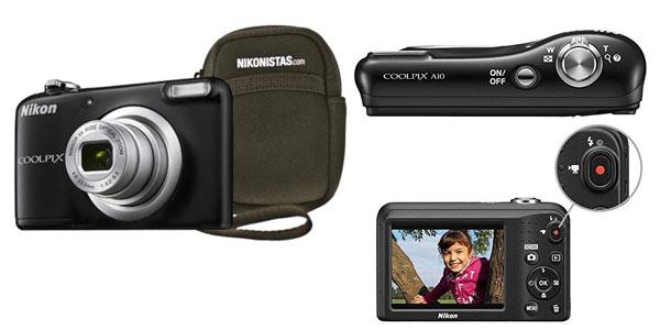 Nikon COOLPIX A10 rebajada en Amazon