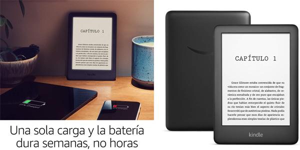 Nuevo Kindle con luz frontal integrada chollo en Amazon
