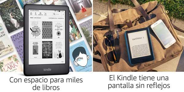 Nuevo Kindle con luz frontal integrada chollazo en Amazon