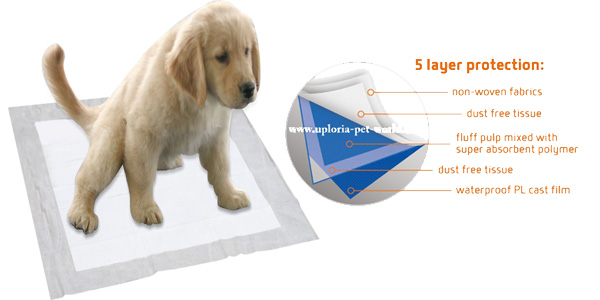 100 empapadores + 5 gratis Uploria Pet World para entrenar a cachorros chollo en Amazon