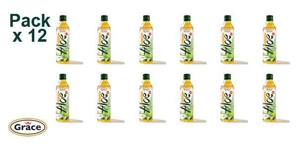 Pack x12 Botellas Grace Bebida Aloe Vera con Mango 500 ml barato en Amazon