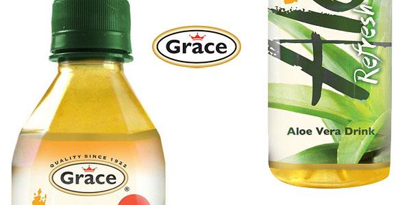 Pack x12 Botellas Grace Bebida Aloe Vera con Mango 500 ml chollo en Amazon
