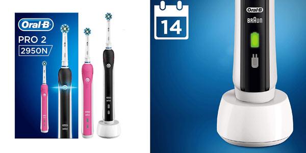 Pack de 2 cepillos de dientes eléctricos Braun Oral-B 2850N Pro 2 baratos en Amazon