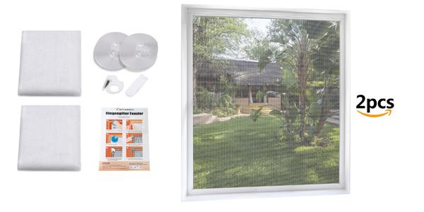 Pack x2 Mosquiteras MYCARBON para ventana 150 x 180 barato en Amazon
