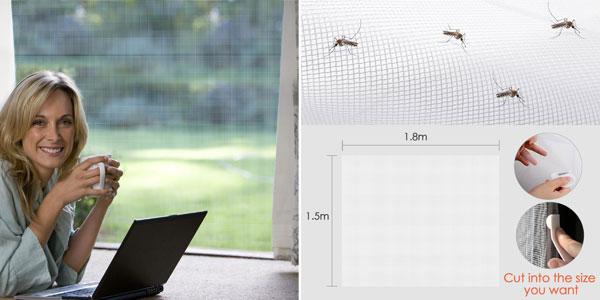 Pack x2 Mosquiteras MYCARBON para ventana 150 x 180 chollo en Amazon