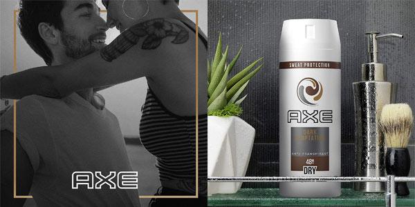 Pack de 3 desodorantes antitranspirantes Axe Dark Temptation en oferta en Amazon