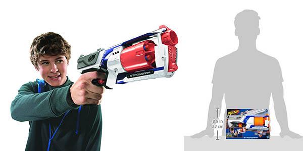 pistola con dardos Nerf Strongarm Elite oferta