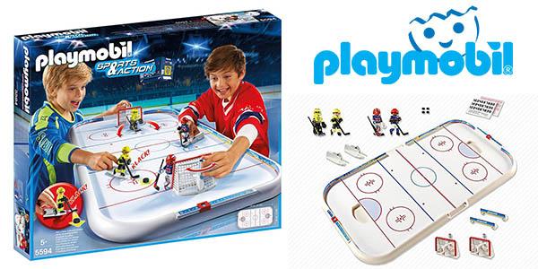 Playmobil Campo de hockey sobre hielo barato
