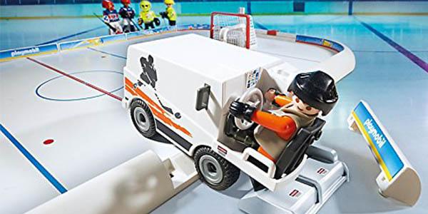 playmobil campo de hockey sobre hielo chollo
