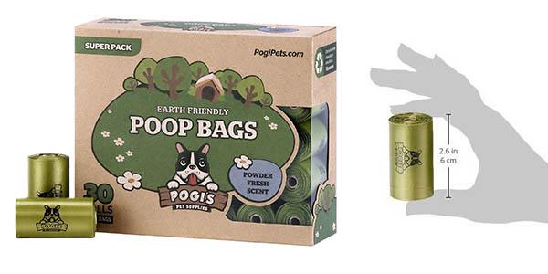 Pogi's Poop Bags bolsas para excrementos con genial relación calidad-precio