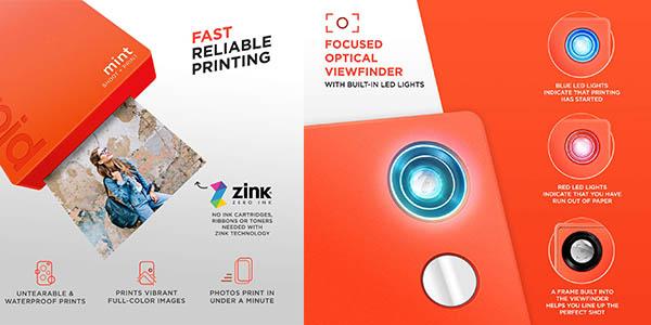 Polaroid Mint cámara de fotos chollo Amazon