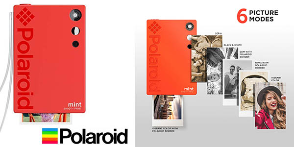 Polaroid Mint cámara de fotos instantánea con impresora barata